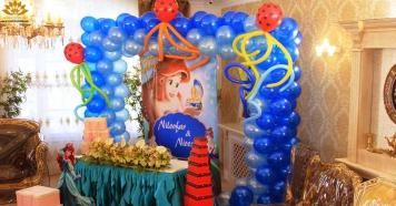 بادکنک آرایی جشن تولد در مشهد