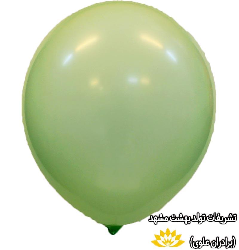 بادکنک سبز پاستلی