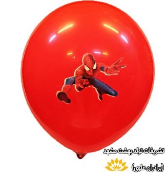 بادکنک با طرح مرد عنکبوتی