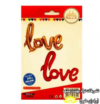 بادکنک فویلی LOVE