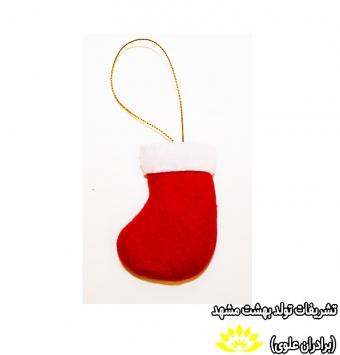 آویز جوراب کریسمس